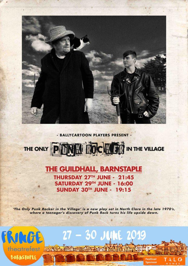 Poster for the Barnstable Fringe FestivaL